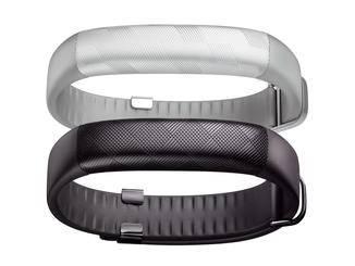 Das Jawbone Up2 kommt ebenfalls in Schwarz und Silber.