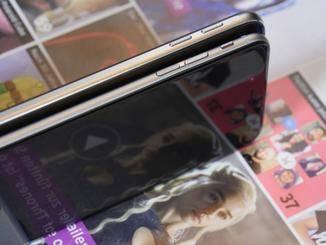 Beim iPhone 6 sitzt der Stummschalter an der Seite.