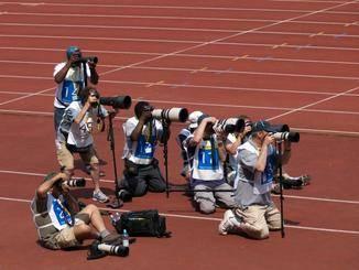 Sportfotografen besitzen hingegen beeindruckende Teleobjektive.