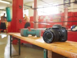 Zu den semiprofessionellen Modellen zählt Canon die EOS 7D Mark II, ...