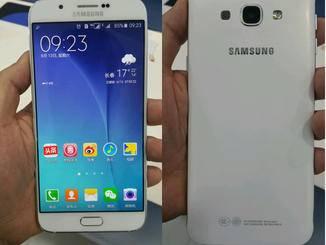 Optisch erinnert das Samsung Galaxy A8 frappierend an das Galaxy S6.