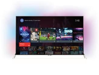 Eine große Anzahl an Apps bietet Googles Betriebssystem Android TV.