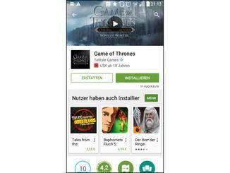 Für kürzlich gekaufte Apps bietet Google eine Rückerstattung an.