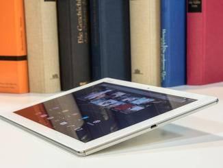 Geladen wird das Z4 Tablet über einen Micro-USB-Port.