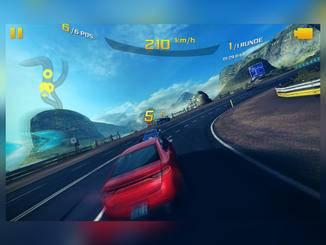 Die Spiele-Performance des Xperia Z4 Tablet kann sich sehen lassen.