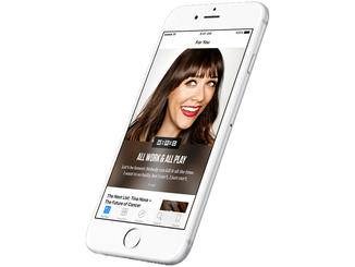 Die neue App News soll dem Nutzer seine Lieblingsthemen näher bringen.