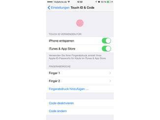 Ein erneutes Kalibrieren von Touch ID kann ebenfalls helfen.