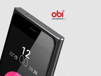Das Obi Worldphone SF1 mit 5 Zoll Full HD-Bildschirm.