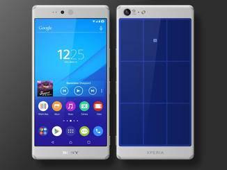 Das Z5 soll laut dem Konzept mit Android M ausgeliefert werden.