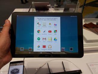 Über eine spezielle Taste wird der Dual-Window-Modus gestartet.
