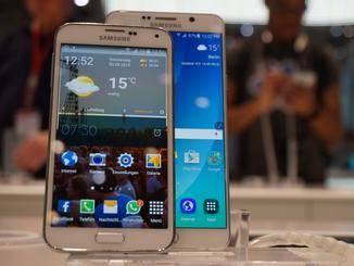 Der Unterschied zum Galaxy S5 ist nicht so groß wie erwartet.
