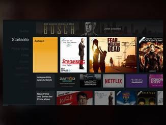 Das Angebot an Inhalten ist dennoch sehr groß. auch Netflix und Co. sind an Bord.