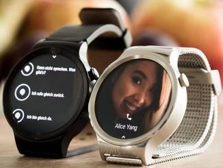 Auch Anrufe können mit der Uhr in Empfang genommen oder abelehnt werden - zum Telefonieren ist ein Smartphone erfoderlich.
