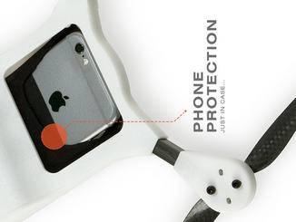Das Schutz-Case soll vor Stößen und Vibrationen schützen.