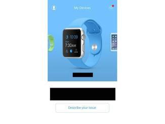 Die App unterstützt viele Apple-Geräte.