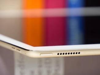 Insgesamt vier Lautsprecher hat Apple dem iPad Pro spendiert.