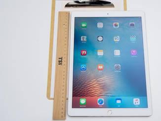 Groß, größer, iPad Pro: 12,9 Zoll misst das Display.