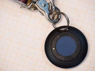 Das Gadget verfügt nur über einen einzigen Button für das Pairing mit dem Smartphone.