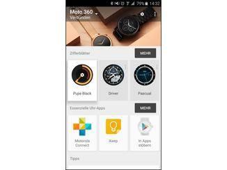 Neue Apps für Android Wear lassen sich direkt über die zugehörige App finden.