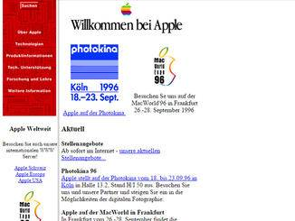 Damals hatten Photokina und MacWorld noch Bedeutung für Apple.
