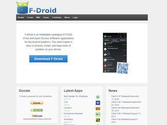 Alternative App-Stores kannst Du vom PC aus herunterladen...