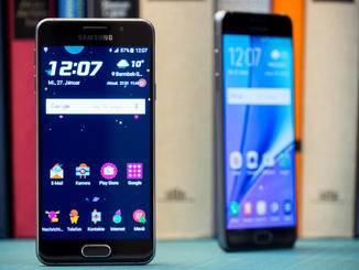 Das Galaxy A3 besitzt ein 4,7 Zoll-AMOLED-Display.