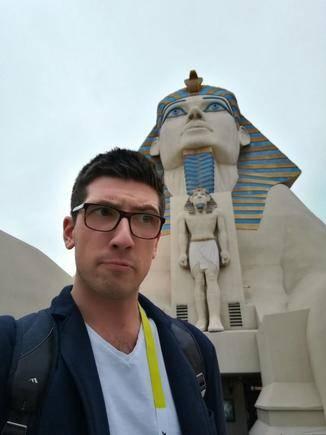 Alex war mit dem Huawei Mate 8 in Las Vegas unterwegs...