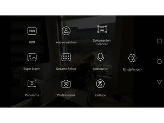 ... ermöglicht der Pro-Modus in der Kamera-App.