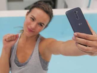 LG K-Produktfamilie Selfie