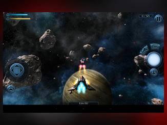 "Auch ""Galaxy on Fire 2 HD"" ruckelt stark."