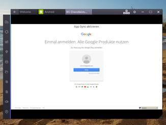 Im nächsten Schritt muss das Google-Passwort noch einmalig eingeben werden.