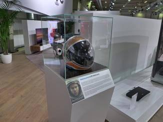 """Der Original-Helm von Matt Damon aus """"Der Marsianer""""..."""