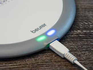 ... eine für die Stromversorgung, die andere für Bluetooth.