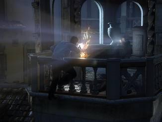 """In """"Uncharted 4"""" wird natürlich wieder reichlich geballert."""