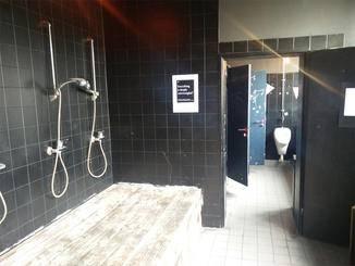 Selbst die Toiletten sind hier alles andere als gewöhnlich.