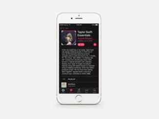 Konzept des Dark Mode für iOS von Reddit-Nutzer simalary44.