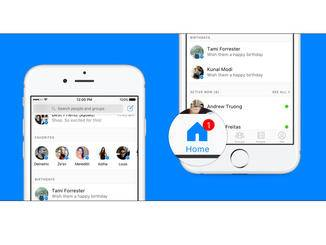 Facebook spendiert seiner Messenger-App ein Update...