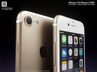 Das Konzept-iPhone 7 sieht fast aus wie der Vorgänger.