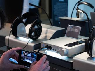 Auch einen passenden Kopfhörerverstärker gibt es.