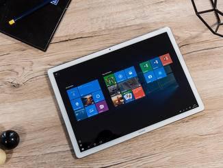 ... oder im Tablet-Modus ohne Tastatur nutzen.
