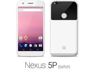 Das Nexus-Phone in Weiß.
