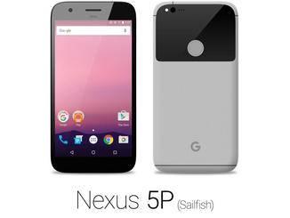 Das Nexus-Phone in Grau.