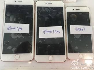 Leak-Fotos vom iPhone 7, iPhone Plus und iPhone 7 Pro.