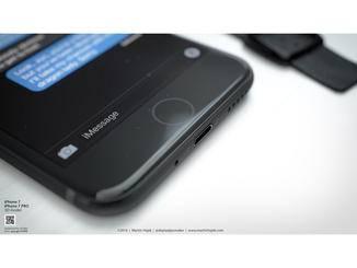 Hajek zeigt auch, wie ein Force Touch-Home Button aussehen könnte.
