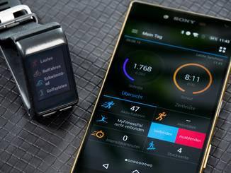 Die Uhr sammelt spezialisierte Daten zu vielen verschiedenen Sportarten.