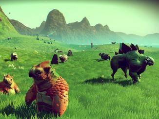 """Sehen freundlich aus, sind mitunter aber recht angriffslustig: Tiere in """"No Man's Sky""""."""