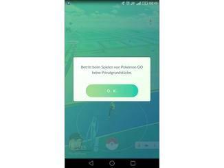 Warnungen wie diese erscheinen nun jedes Mal beim Starten der App.