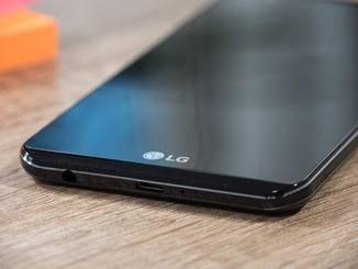 Die Front erinnert entfernt an das LG G5.