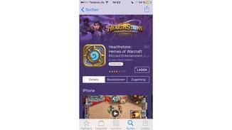 Jetzt laden wir ein großes Spiel aus dem App Store herunter.