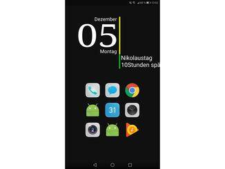 Alternative Launcher ersetzen die Benutzeroberfläche Deines Smartphones.